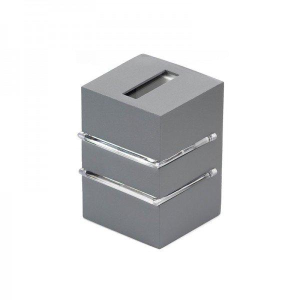 arandela germany frankfurt 18122 g9 bivolt cinza concreto 1resultado