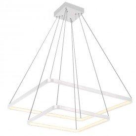 lustre pendente modular quadrado d11095 led bivolt 1resultado