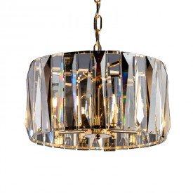 lustre pendente startec filadelfia dourado 45cm g9 bivolt 1resultado