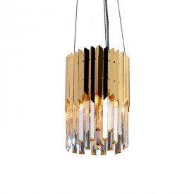 lustre pendente startec baluarte mini dourado g9 bivolt 1resultado