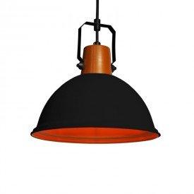 lustre pendente taschibra factory g preto e27 bivolt 1resultado