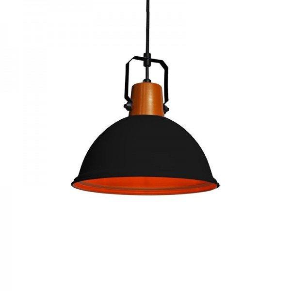 lustre pendente taschibra factory p preto e27 bivolt 1resultado