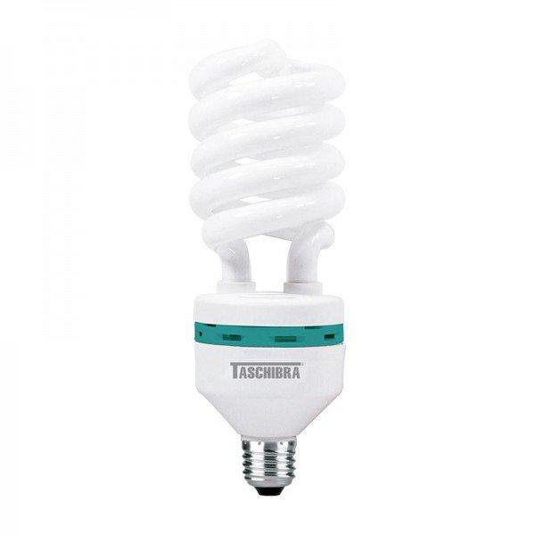 lampada fluorescente compacta taschibra espiral 45w 6400k e27 1resultado