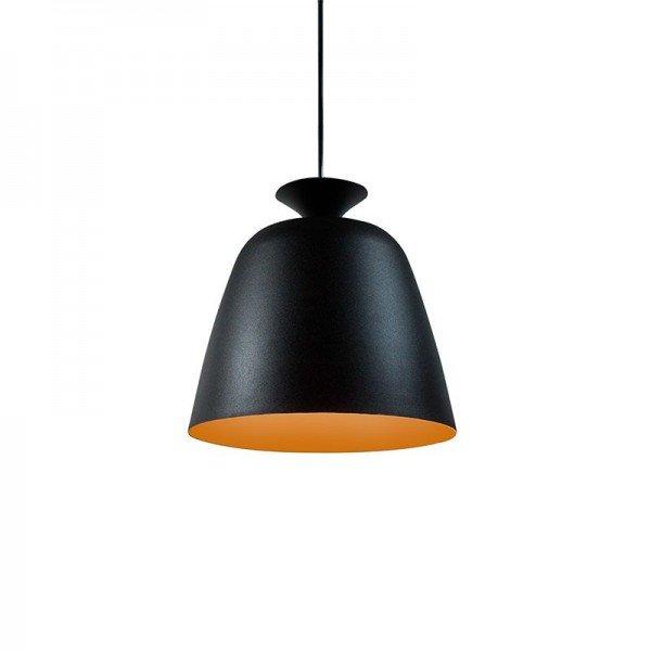 lustre pendente taschibra empire preto e cobre e27 bivolt 1resultado