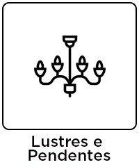 5 lustres e pendentes