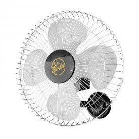 ventilador de parede venti delta gold 50cm preto cromado bivolt 1