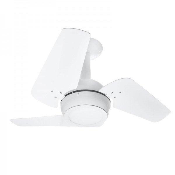 ventilador de teto venti delta loft led com 3 pas branco 1