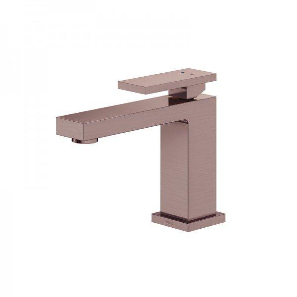 torneira misturador monocomando docol new edge 925369 de bancada cobre escovado 1