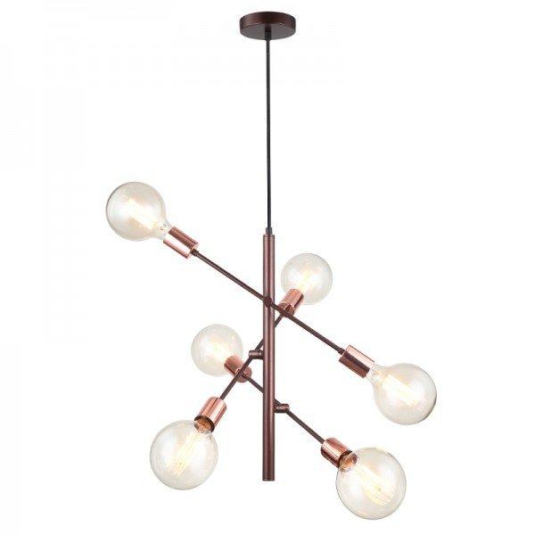 lustre pendente quality pd1310 arrow marrom e27 bivolt 1