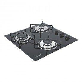 cooktop a gas tramontina brasil 94726501 com 3 bocas preto 1