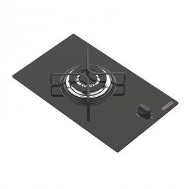 cooktop a gas tramontina domino 94702101 com 1 boca preto 1