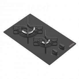 cooktop a gas tramontina domino 94702201 com 2 bocas preto 1