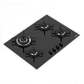 cooktop a gas tramontina trapezio 94707201 com 4 bocas preto 1