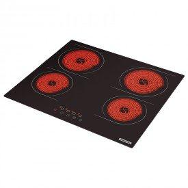 cooktop vitroceramico tramontina new square touch 94747022 com 4 bocas preto 1