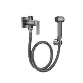ducha higienica docol docolstillo 823770 com flexivel de 1 20m grafite escovado 1
