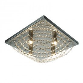 plafon lumix ln169 37cm quadrado transparente g9 1