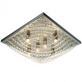 plafon lumix ln169 47cm quadrado transparente g9 1