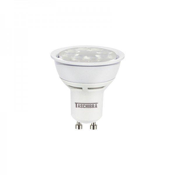 lampada led taschibra tdl 50 dicroica 7w bivolt gu10 1