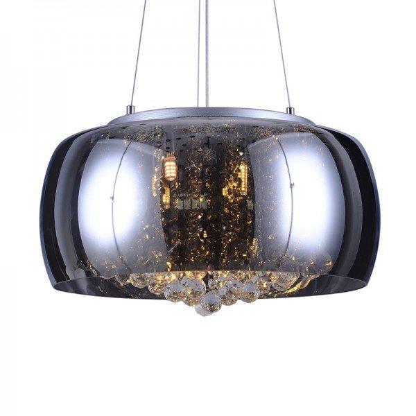 lustre pendente taschibra coliseu 500 cromado g9 bivolt 1