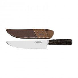 faca para churrasco tramontina 21141198 com bainha 8 castanha 1