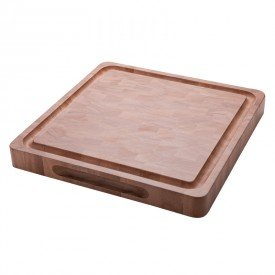tabua para churrasco tramontina 13261640 40x40cm madeira natural 1