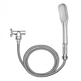 ducha manual com desviador docol 934306 r95 de parede cromada 1