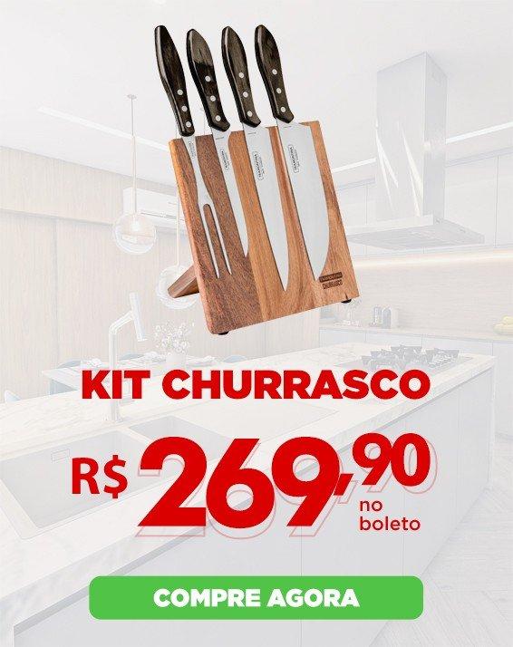 2 Kit Churrasco Magnético