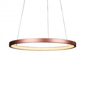 lustre pendente quality montreal 1300 led bivolt cobre 1