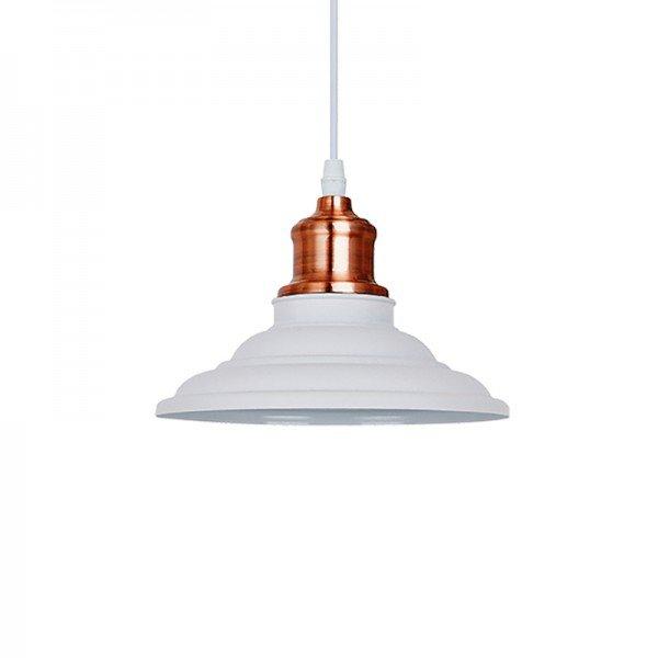 lustre pendente quality vega 1163 e27 bivolt branco 1
