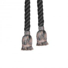lustre pendente corda para 2 lampadas e27 chumbo bivolt 1