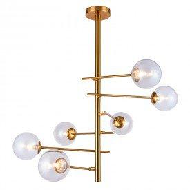 lustre pendente orluce cosmos ii or1182 dourado g9 bivolt 1
