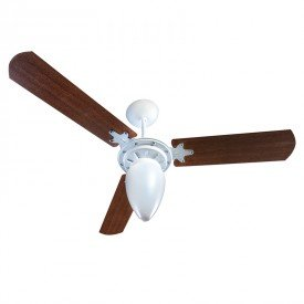 ventilador de teto ventisol wind 3 pas branco mogno 1