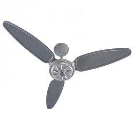 ventilador de teto ventisol comercial 3 pas cinza 1