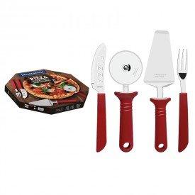 jogo de talheres 14 pecas tramontina pizza 25099722 vermelho 1