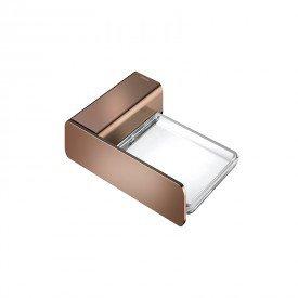 saboneteira docol flat 1013830 cobre polido 1