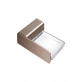 saboneteira docol flat 1013869 cobre escovado 1