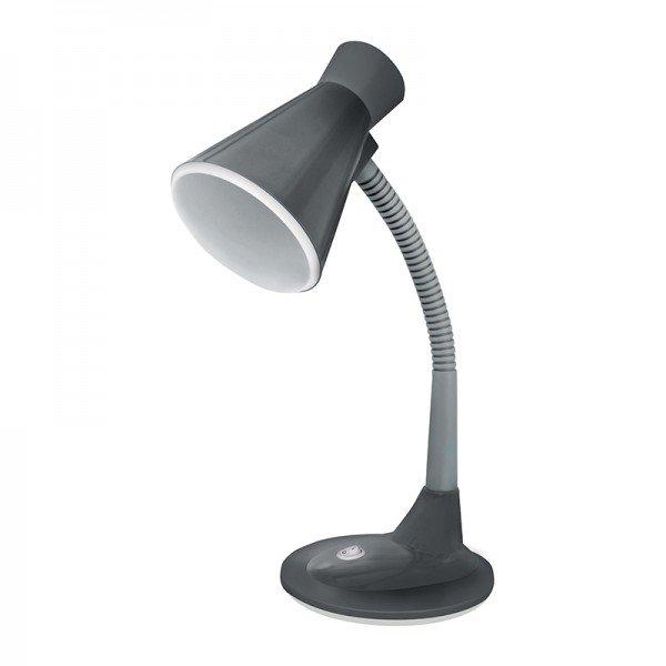 luminaria de mesa taschibra tlm 03 cinza bivolt 1