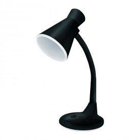 luminaria de mesa taschibra tlm 03 preta bivolt 1