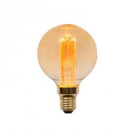 lampada led filamento nordecor g80 guide 3w e27 bivolt 1