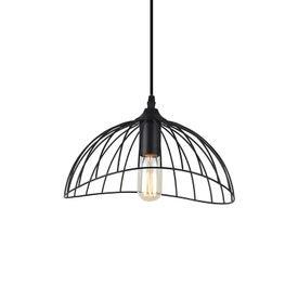 lustre pendente taschibra anagua preto e27 bivolt 1