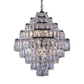 lustre pendente startec florenca belle cromado g9 bivolt 1