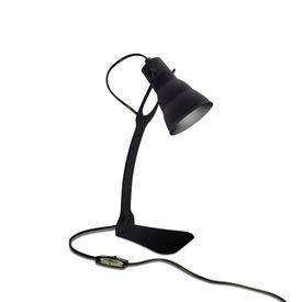 luminaria de mesa taschibra hol e27 bivolt preto 1