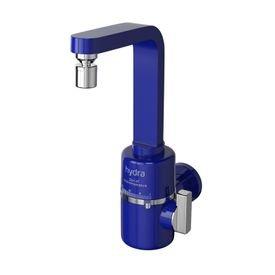 torneira eletrica hydra slim 4t de parede azul 1