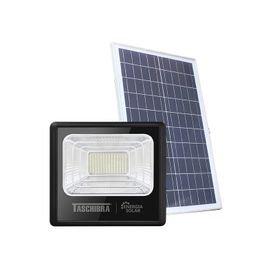refletor led solar taschibra tr sun 100w preto 6500k luz branca 1