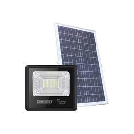 refletor led solar taschibra tr sun 60w preto 6500k luz branca 1