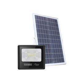 refletor led solar taschibra tr sun 40w preto 6500k luz branca 1