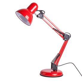 luminaria de mesa startec empire b vermelha bivolt 1