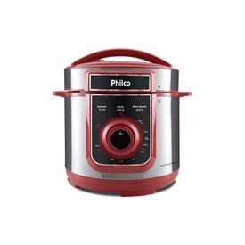 panela de pressao eletrica philco ppp04vi 4l vermelha 1